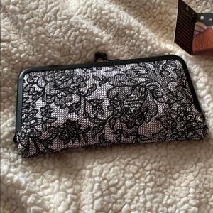 NWT Patricia Nash Chantilly Lace Clutch